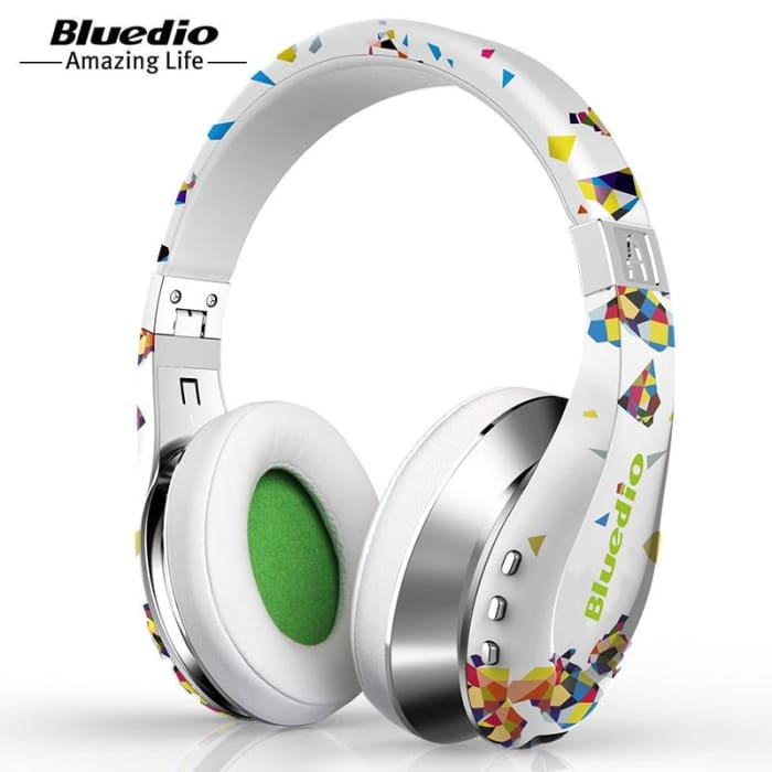 Wireless Bluetooth Headphones with Microphone 3D Surround Sound Headset - Phone Case Evolution