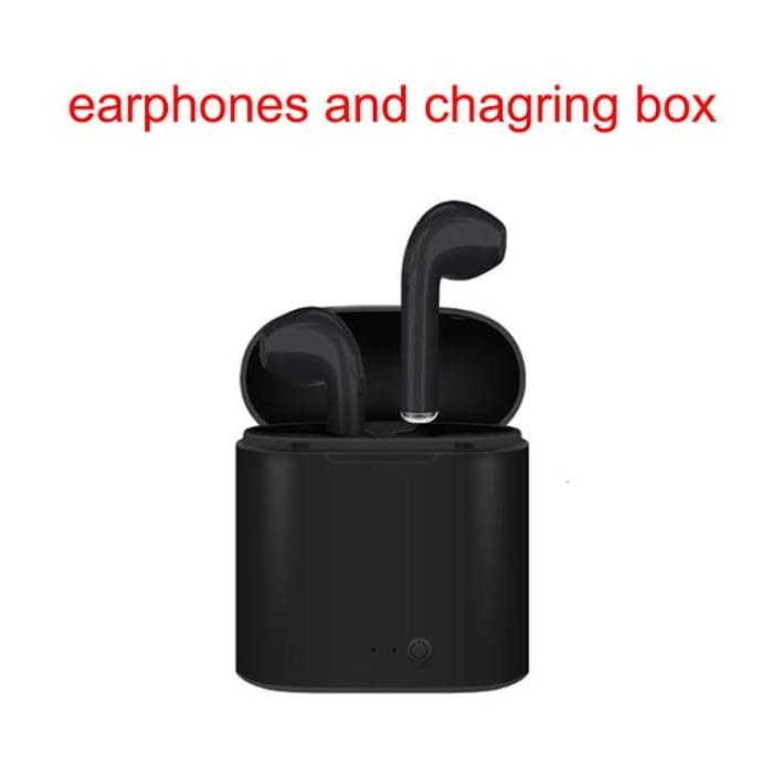 Wireless Double Ear Bluetooth Earphones Stereo Earbuds - Phone Case Evolution