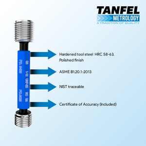 "1""-12 Thread Plug Gage 