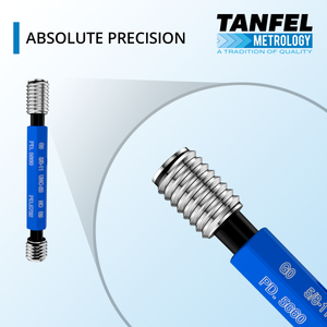Precision thread plug gage | Tanfel Metrology