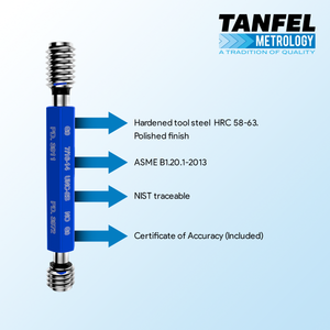 Quality thread plug gauge | Tanfel Metrology