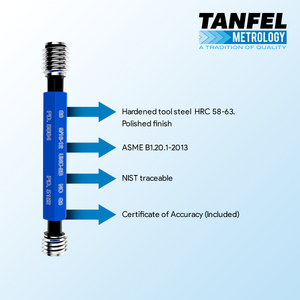 Quality thread plug gages | Tanfel Metrlogy