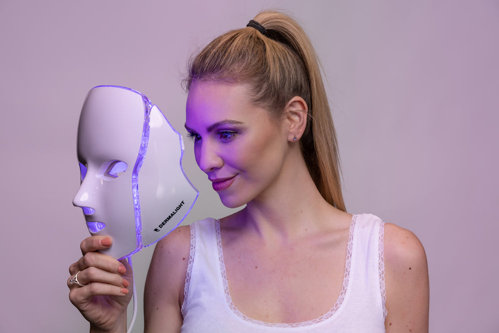 DermaLight - Mask - LED - Light - Therapy