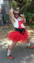 Me as Mr. T (a walking double entendre) at the Red Dress Run 2016ish in New Orleans