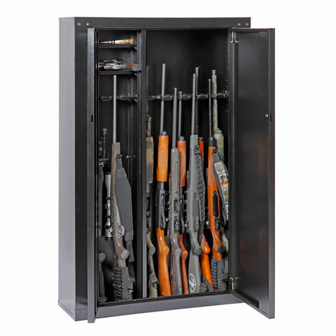 Gun Security Cabinet >> American Furniture Classics Tuff Stor 16 Gun Metal Security Cabinet