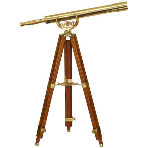Barska 32x80mm Anchormaster classic Brass Telescope AA10620 - USA Safe And Vault