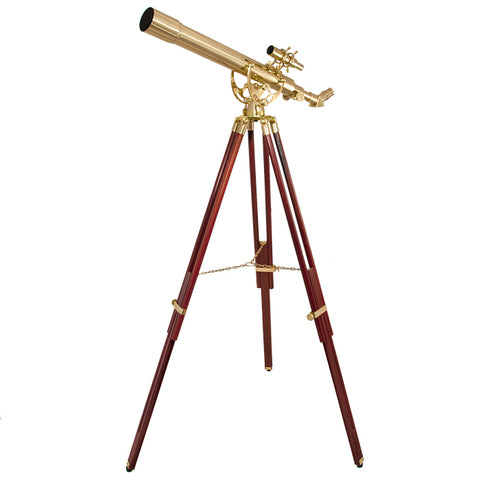 Barska 70060 28 Power Anchormaster Classic Brass Telescope AE10822 - USA Safe And Vault