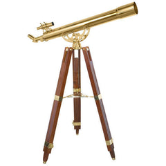 Barska 90080 36 Power Anchormaster Classic Brass Telescope AE10824 - USA Safe & Vault