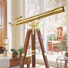Barska 90080 36 Power Anchormaster Classic Brass Telescope AE10824
