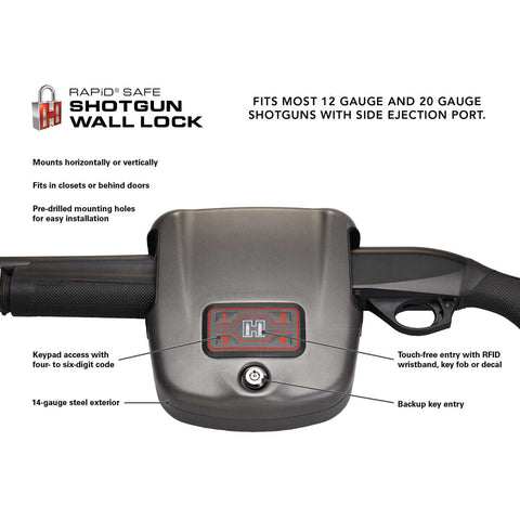 Hornady RAPiD® Safe Shotgun Wall Lock