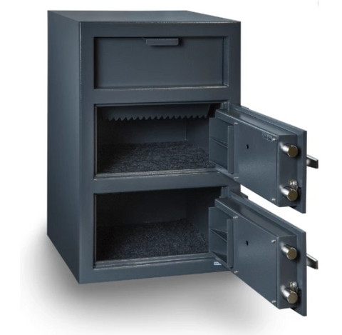 Hollon Safe Double Door Depository Safe FDD-3020CC - USA Safe And Vault