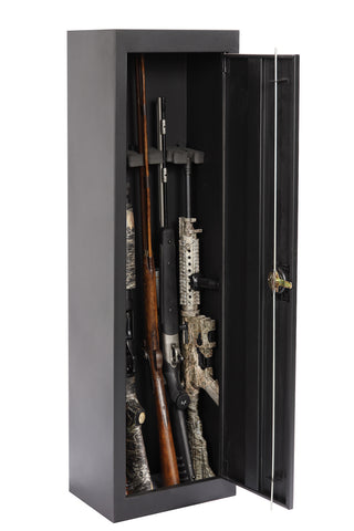 American Furniture Classics 5 Gun Starter Metal Security Cabinet 901