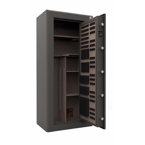Cannon American Eagle Fireproof Gun Safe - 24 Gun Capacity, - USA Safe and Vault
