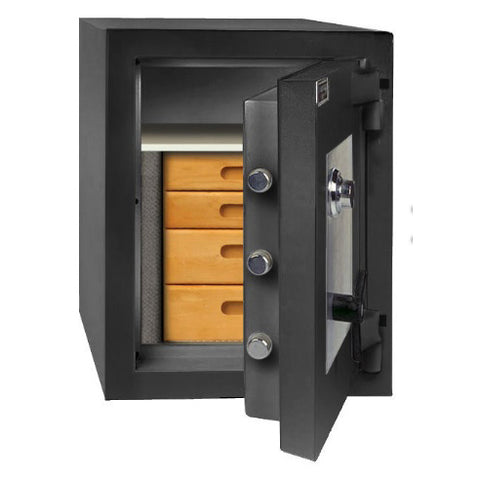AMSEC CE2518 High Security Composite 2 Hour Fire Protection TL15 Safe - USA Safe And Vault