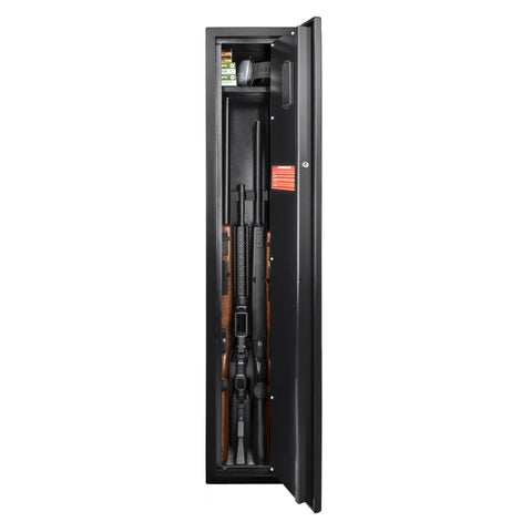 Barska Biometric Rifle Safe with Fingerprint Lock AX11652 - USA Safe And Vault