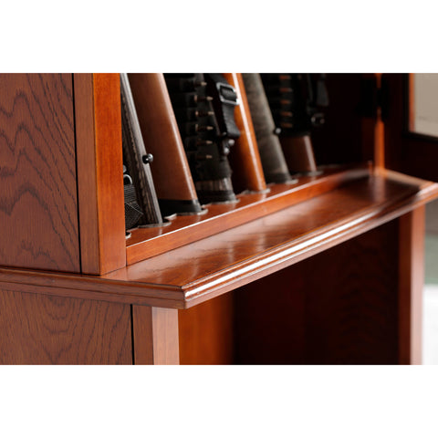 American Furniture Classics 8 Long Gun Capacity Cabinet 800 - USA Safe & Vault