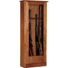 American Furniture Classics Wooden Gun Cabinet 724-10 - USA Safe And Vault