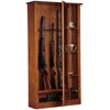 Image of American Furniture Classics Gun/Curio Cabinet 725 - USA Safe & Vault