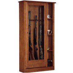 American Furniture Classics 725 Curio Gun Cabinet, - USA Safe and Vault