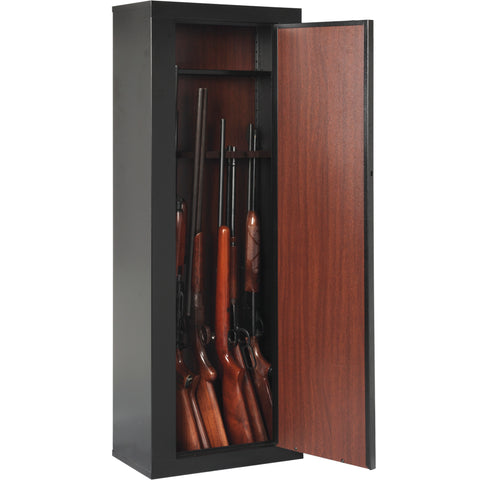 American Furniture Classics 10 Guns Scratch Resistant Metal Cabinet 910 - USA Safe & Vault