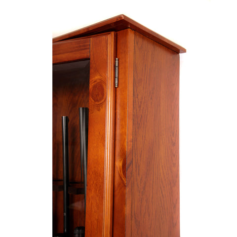 American Furniture Classics 898 Slanted Base Gun Cabinet, - USA Safe and Vault