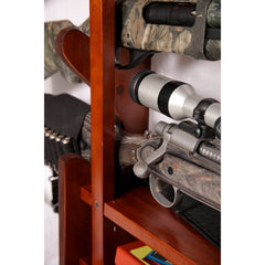 American Furniture Classics 4 Gun Wall Rack 840