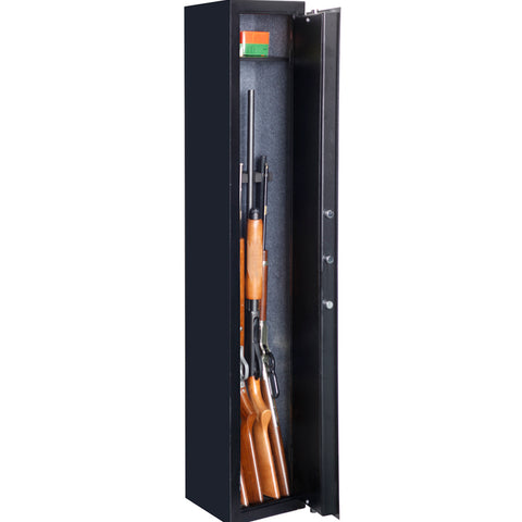 American Furniture Classics 5 Gun Metal Security Cabinet 905, - USA Safe and Vault