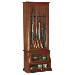 American Furniture Classics Slanted Base Gun Cabinet 898 on Backorder