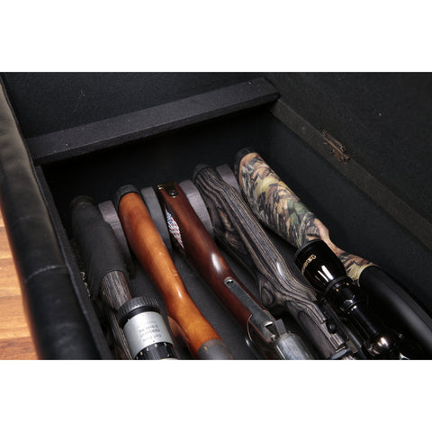 American Furniture Classics Concealment Gun Bench, - USA Safe and Vault