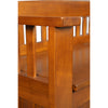 Image of American Furniture Classics Gun Concealment Bench 504 - USA Safe & Vault