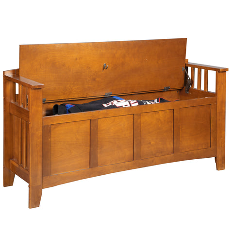 American Furniture Classics Gun Concealment Bench 504 - USA Safe & Vault