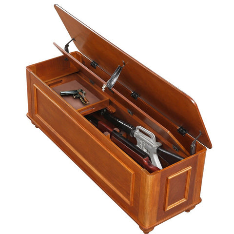 American Furniture Classics Hope Chest with Gun Concealment 540 - USA Safe And Vault