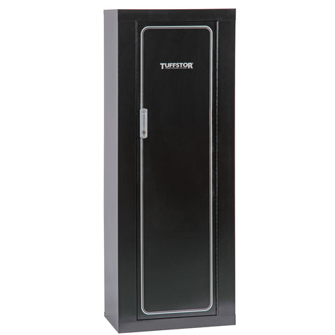 American Furniture Classics Tuff Stor 10 Gun Metal Security Cabinet, - USA Safe and Vault