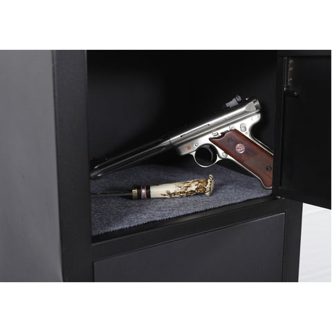American Furniture Classics 5 Gun Metal Security Cabinet 906, - USA Safe and Vault
