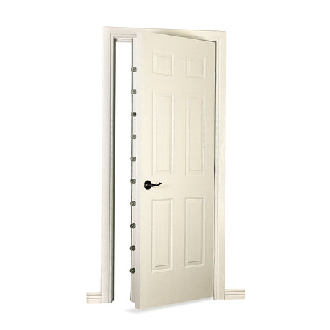 Browning Security Door Six Panel White Primer Vault Door SEC DR PRIMER - USA Safe And Vault