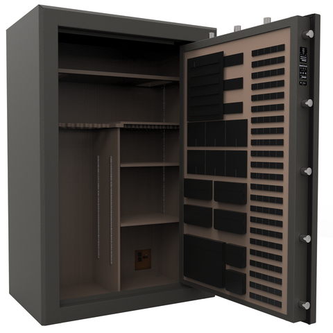 Cannon Premium Fireproof 48 Gun Safe - UL Rated CA594024-90 - USA Safe And Vault