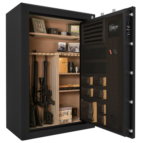 Cannon Premium Fireproof 48 Gun Safe - UL Rated, - USA Safe and Vault