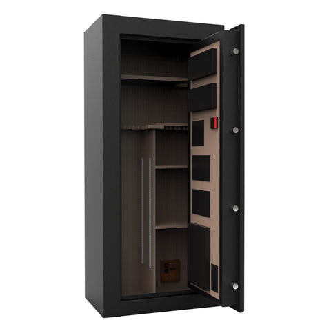 Cannon Capitol Fireproof Gun Safe - 24 Gun Capacity CP592618-30 - USA Safe And Vault