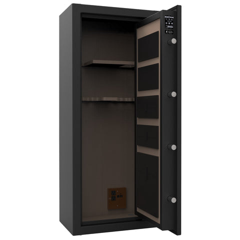 Cannon Capitol Deluxe Fireproof Gun Safe - 12 Gun Capacity, - USA Safe and Vault