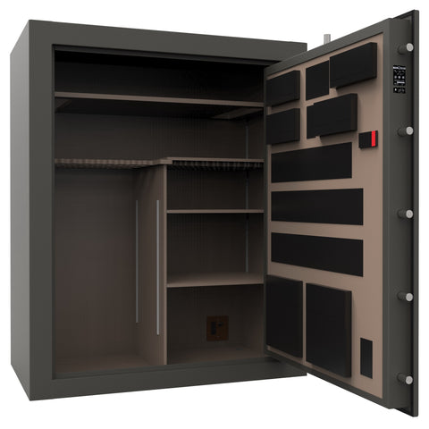Cannon Capitol Series 80-Gun Safe 30-Minute Fire Rated, Black CP594830-30 - USA Safe And Vault