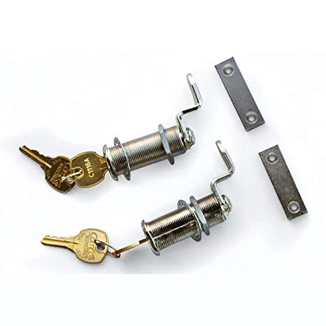 Decked Lock Set of 2 with Matching Keys for Full-Size System AD10LOCKSETV3 - USA Safe And Vault