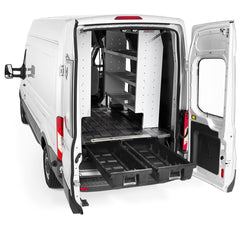 Decked Ford Transit Cargo Van Storage System (2014-current) VNFD13TRAN55 - USA Safe & Vault