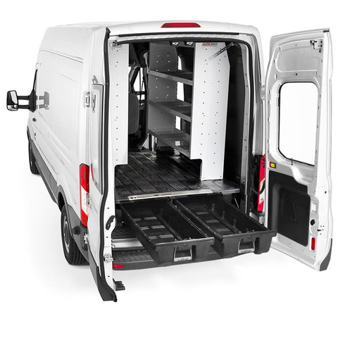 Decked Ford Econoline Cargo Van Storage System (1992-2014) VNFD92ECXT65 - USA Safe And Vault