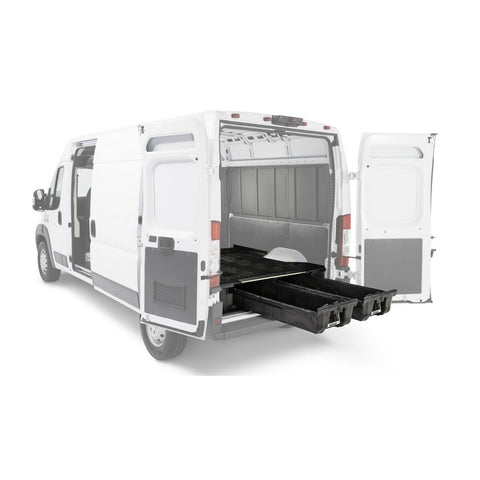 Decked Ford Transit Cargo Van Storage System (2014-current) VNFD13TRAN55 - USA Safe And Vault
