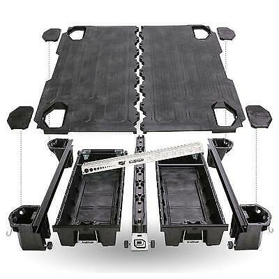 Decked Truck Bed Organizer Storage System DG4 - USA Safe & Vault