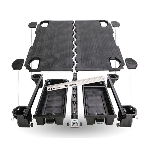 Decked Truck Bed Storage System DR5 - USA Safe & Vault
