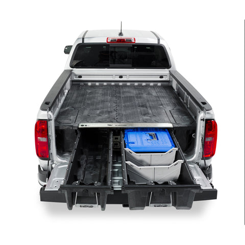 Decked Toyota Tacoma Truck Bed Storage System - USA Safe And Vault