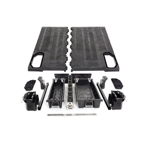 Decked Midsize Truck Bed Storage System MJ1 - USA Safe & Vault
