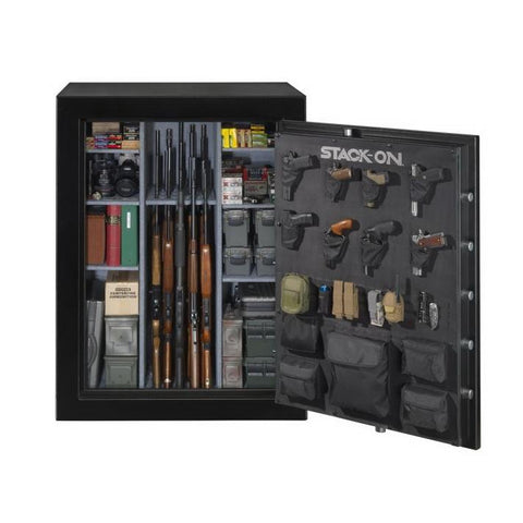 Stack-On Elite 69 Gun Capacity Fireproof Gun Safe E-69-MB-E-S on Backorder until December - USA Safe And Vault