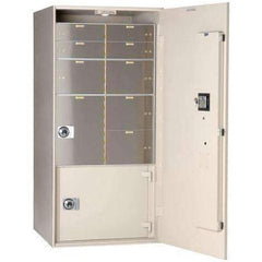 Socal -Bridgeman Safes TL-15 Missouri Mule Safe Night Depository Head & Receiving Chest ER-7435-M
